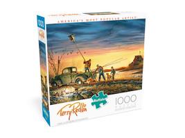 "NEW 1000 Piece Jigsaw Puzzle Buffalo Terry Redlin 26"" x 19"", THE CONSERV... - $23.70"