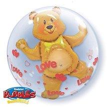 """Love Bear Bubble Balloon 24"""" High Quality Qualatex - $9.99"""