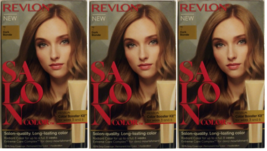 (3) Revlon Salon Color #7 Dark Blonde Color Booster Kit For Week 3 And 6 - $31.67