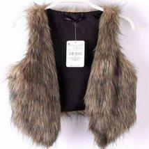 Vintage Faux Fur Vest Coat For Women - $21.28