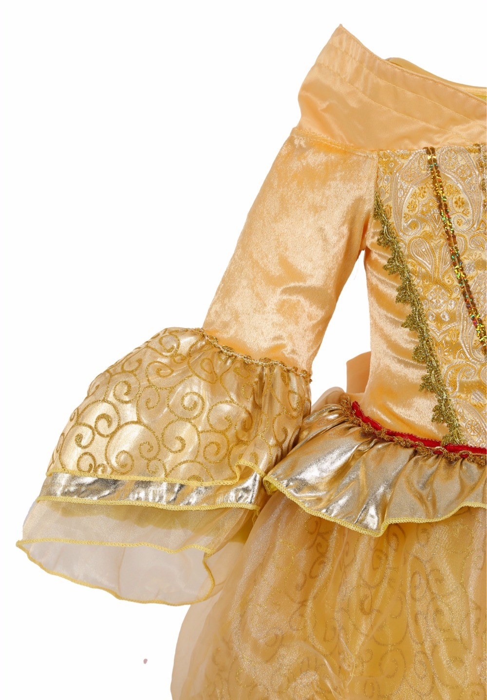 Fancy NEW Beauty And Beast Cosplay Dresses Christmas Halloween Costumes Dresses