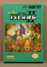 Adventure Island II 2 (Nintendo NES, 1991) Complete in Box (CIB) Hudson ... - $599.95