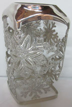 Bath & Body Works Gentle Foaming Hand Soap Sleeve Holder Glitter Snowflakes - $19.99