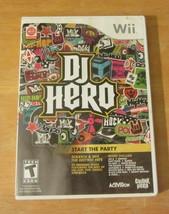 Nintendo Wii DJ Hero Start the Party - $6.36