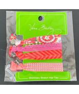 Vera Bradley Pixie Blooms Signature Shimmery Stretch Hair Ties 4 Pack NE... - $11.11