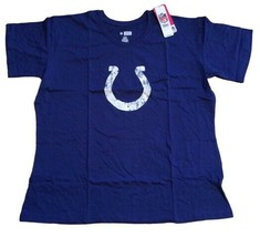 NFL Baltimore Colts Women's T-Shirt Screen Logo Short Sleeve Scoop Neck ... - $9.89
