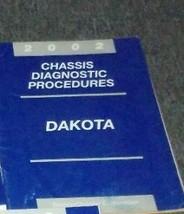 2002 Dodge Dakota Truck Chassis Diagnostic Service Shop Repair Manual Oem 2002 - $25.28
