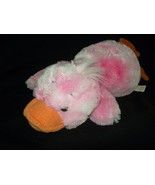 Target Platypus Duck Pink Orange Plush Stuffed Animal 15 inch Tie Dye - $29.67
