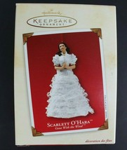 Hallmark Scarlett O'Hara Gone With the Wind Keepsake Ornament Porcelain 2002 - $21.01
