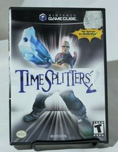 Time Splitters 2 Nintendo Gamecube Complete CIB Eidos - $29.02