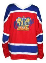Edmonton oil kings retro hockey jersey red   1 thumb200