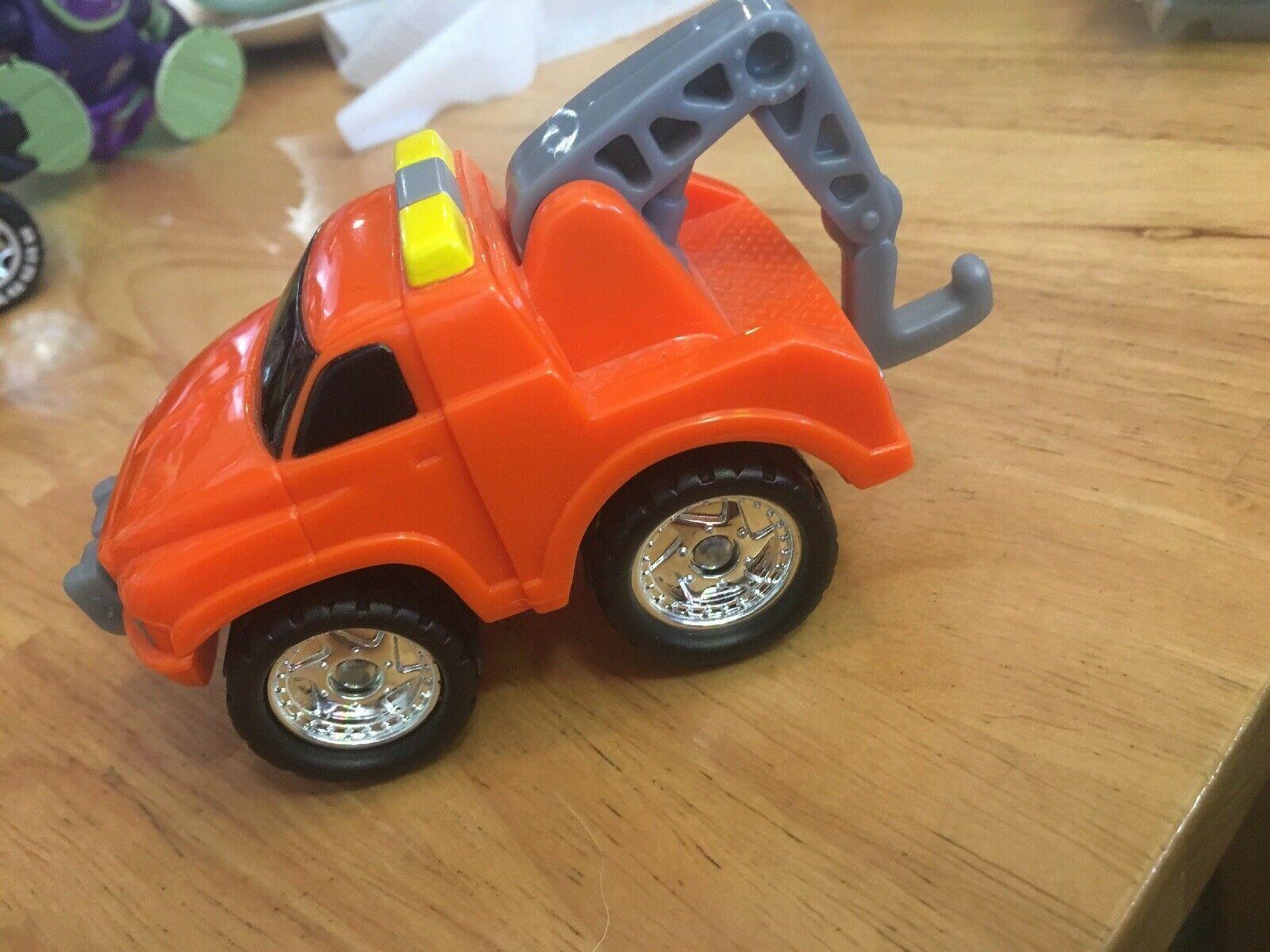 Fisher Price FP Toys 1995 Orange Tow Truck image 2