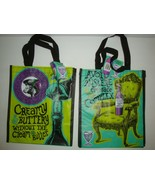 NEW TRADER JOE'S QTY 2 REUSABLE SHOPPING GROCERY ECO BAGS WINE BAG WITH ... - $12.86