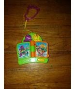 Mattel BARNEY Musical Crib Stroller Clip on Toy Green w. Batteries  - $15.85