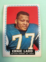 1964 Topps Ernie Ladd #163 Football Card VG+ Condition San Diego Chargers - $5.99