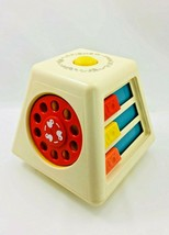 Vintage 1978 Fisher Price Turn and Learn Spinning Toy Activity Center No... - $18.99