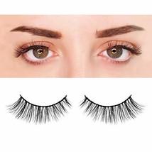 BEPHOLAN 3 Pairs False Eyelashes Synthetic Fiber Material| 3D Mink Lashe... - $7.14