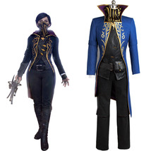 Dishonored Ⅱ Emily Drexel Lela Kaldwin COSplay Costume Uniform Outfit Dr... - $191.43 CAD+