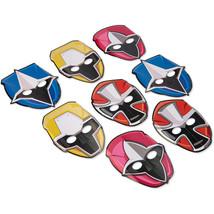 POWER RANGERS Party Birthday MASKS Decoration Treats Favors Ninja Steel ... - $9.85