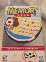 Memory Fun On The Run Game By Milton Bradley Matching Cards 2005 Ready to take  - $24.23