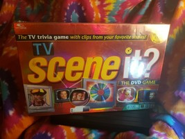 New Sealed Mattel Scene It? TV Guide Screen Trivia DVD Board Game 2005 - $13.07
