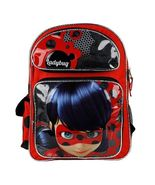 """Miraculous Ladybug 16"""" inches by Nickelode School Backpack & Lunch Box L... - $45.99"""