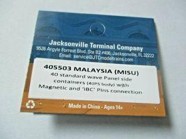 Jacksonville Terminal Company # 405503 MALAYSIA (MISU) 40' Standard Container image 4