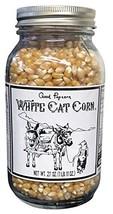 White Cat Corn Gourmet Good Popcorn Popping Corn Kernels, Light and Fluffy 27 ou