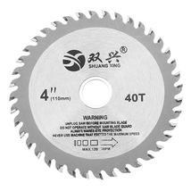 4 Inch 40 Teeth Circular Saw Blade Acrylic Plastic Woodworking Cutting B... - $8.88+