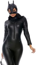 Claws Out Sexy Black Cat Deluxe Costume Catsuit Set image 3