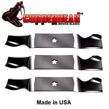 "Copperhead Blades fit Craftsman 187254 187256 532187254 532187256 54"" Deck - $32.27+"