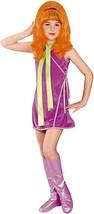 Rubies Daphne Blake Scooby Doo Dibujos Infantil Vestido Disfraz Halloween 882847 - $28.45