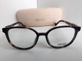 New LIU JO LJ 2632 LJ2632 215 Tortoise 50mm Round Women's Eyeglasses Frame - $127.49