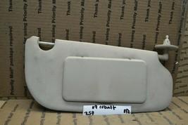 05-10 Chevrolet Cobalt Right Side Sun Visor Module 257-8f2 - $5.89