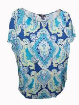 Chaps Short Sleeve Print Shirt Size Xlarge Brand New! - $12.82