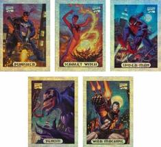 1994 Fleer Marvel Masterpieces Series-3 New Complete 10-Card Silver Holo... - $14.99