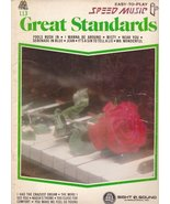 Great Standards #113 (Sheet Music) Easy-To-Play Speed Music [Sheet music] - $8.81