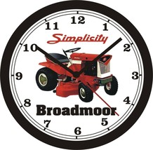 Simplicity Broadmoor Lawn Tractor Wall CLOCK-FREE Us Ship - $28.70+