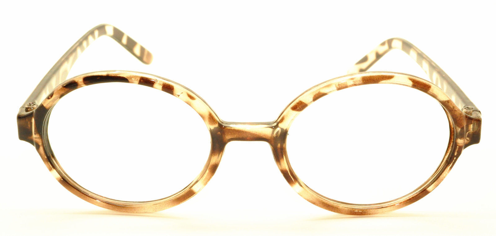 Geek Nerd Style Oval Round Shape Style Glasses Frames NO LENS Wizard Costume image 15