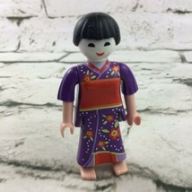 Playmobil Japanese Geisha Girls Series Number 12 Figure Retired - $11.88