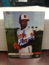 Mychal Givens Baltimore Orioles Autographed Card In person 2019 Topps Now - $14.84