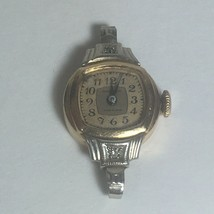 Waltham Premier 670 Watch 10k G.F. Small Diamonds Starts And Stops For P... - $17.81