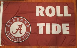 NCAA Crimson Roll Tide Flag University Of Alabama 3 X 5 Feet New - $15.15