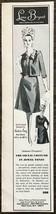 1964 Lane Bryant Print Ad Herbert Levy Jacket and Dress in Jewel Tones - $10.69