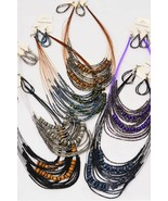 Necklace sets  Beads w wooden Beads Bohemian look Brand New - $8.50