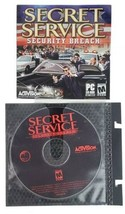 Secret Service Security Breach Fps Shooter 2003 Pc Computer Game Disc - $14.69