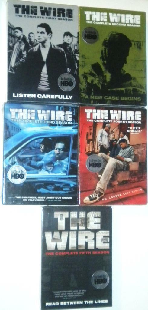 The Wire: The Complete Series Seasons 1-5 [DVD Sets 1 2 3 4 & 5 New]
