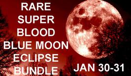 DISCOUNTS TO $238 JAN 31 Haunted SUPER BLOOD BLUE MOON FULL ECLIPSE BUNDLE MAGIC - $52.50