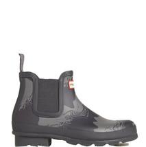 Hunter Men's Original Storm Stripe Chelsea Rain Short Outdoor Boots Size 9 - $113.85