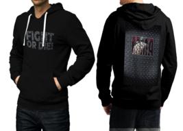 Mma fight or die black hoodie 2d for men thumb200
